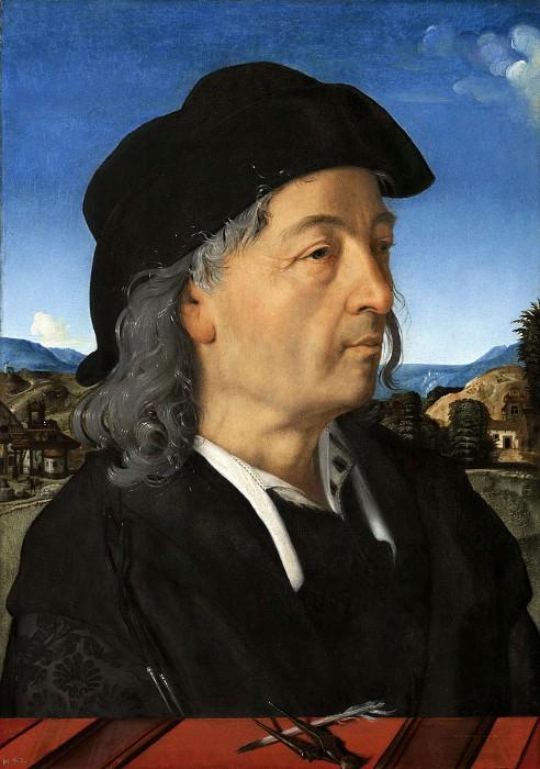 Piero di Cosimo - Portrait of Giuliano da Sangallo (1445-1516), Son of Francesco Giamberti. Mauritshuis