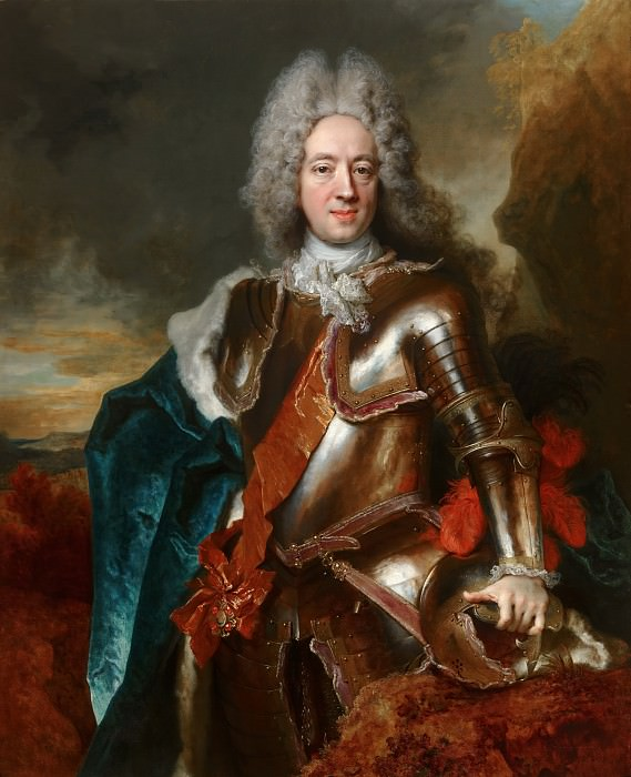 Ларжильер, Никола де - Портрет Вильгельма Гиацинта Оранского (1666-1743). Маурицхёйс