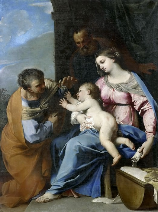 Raffaello Vanni (attributed to) - The Holy Family and St Anne. Mauritshuis