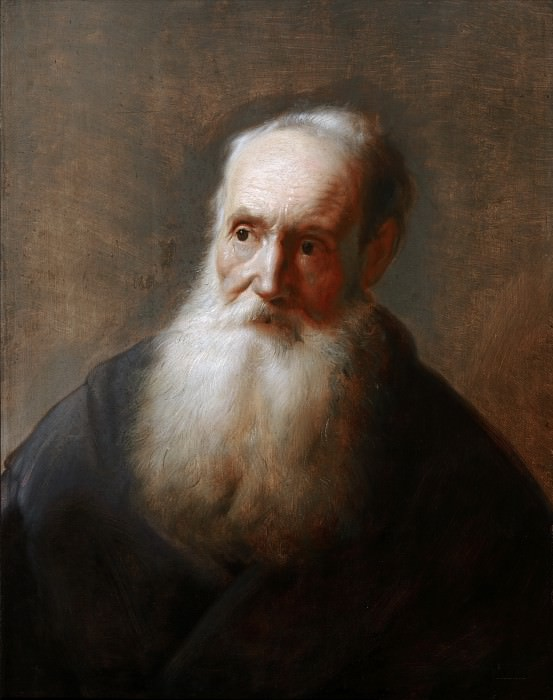 Jan Lievens (after?) - 'Tronie' of an Old Man. Mauritshuis