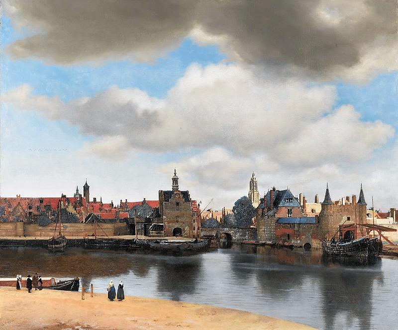 Johannes Vermeer - View of Delft. Mauritshuis