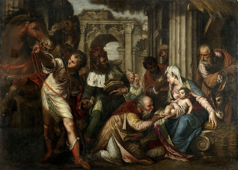 Paolo Farinato - The Adoration of the Magi. Mauritshuis