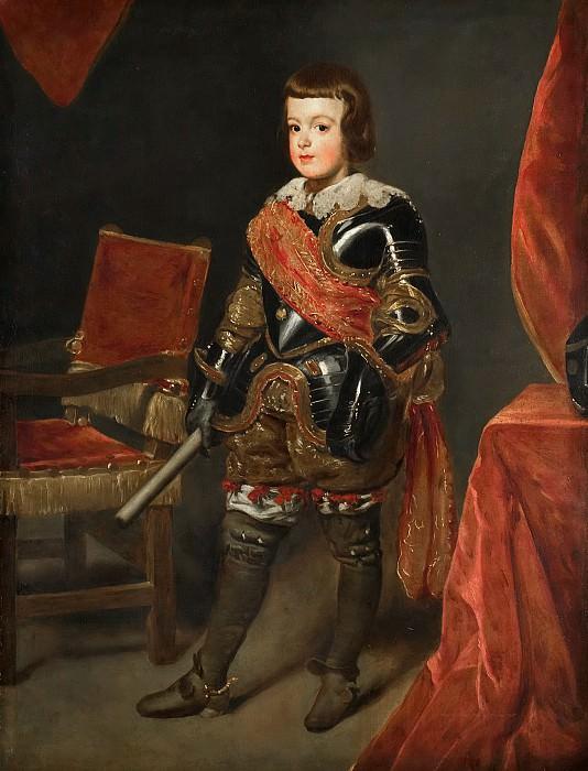 Juan Bautista Martínez del Mazo (possibly studio of) - Portrait of the Infante Balthasar Carlos (1629-1646). Mauritshuis