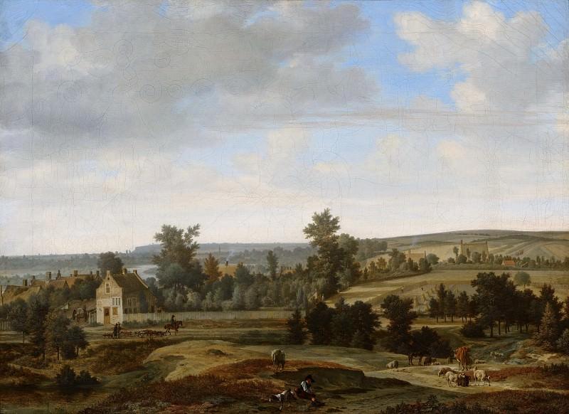 Joris van der Haagen - Panorama near Arnhem. Mauritshuis