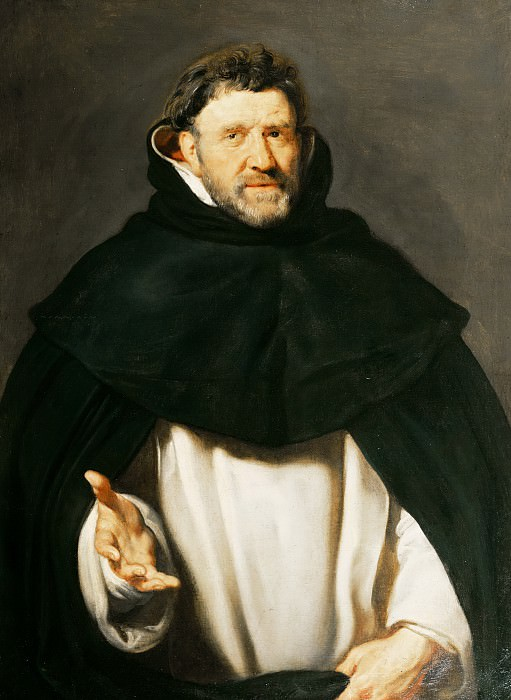 Peter Paul Rubens - Portrait of Michael Ophovius (1570-1637). Mauritshuis