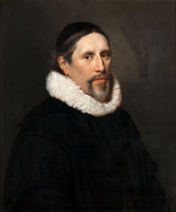 Jan Westerbaen the Elder - Portrait of Arnoldus Geesteranus (1593-1658). Mauritshuis