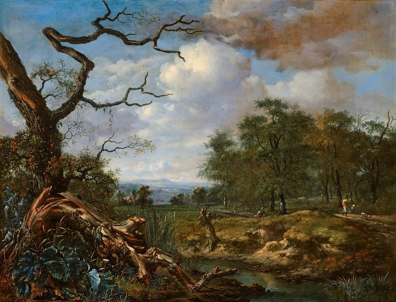 Jan Wijnants - Landscape at the Edge of Woods. Mauritshuis
