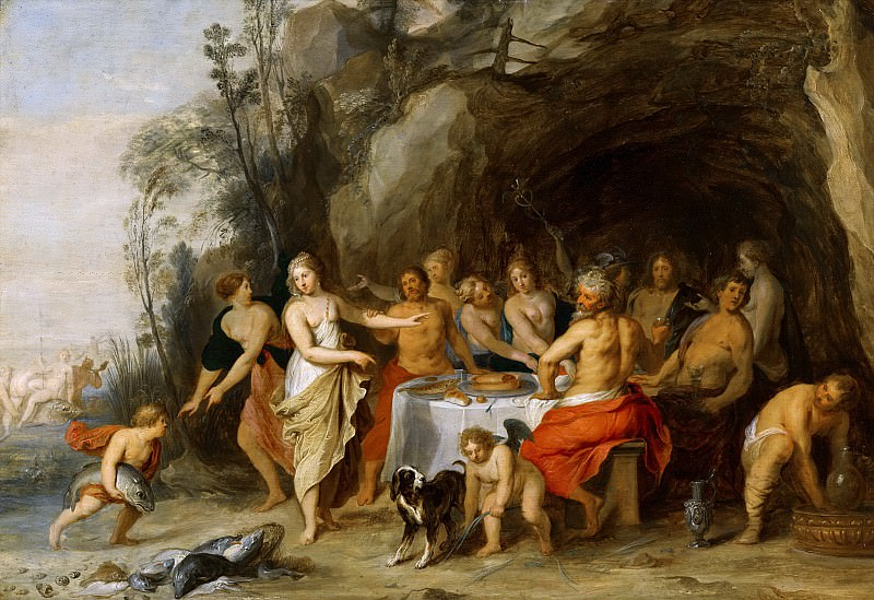 Anonymous (Southern Netherlands) - Banquet of the Gods. Mauritshuis