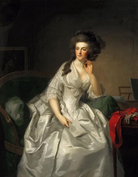 Johann Friedrich August Tischbein - Portrait of Princess Frederika Sophia Wilhelmina (1751-1820). Mauritshuis