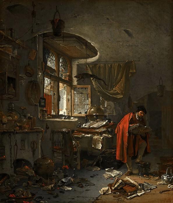 Thomas Wijck - The Alchemist. Mauritshuis