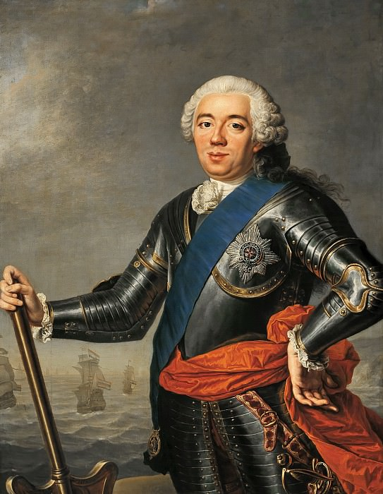 Jacques-André-Joseph Aved - Posthumous Portrait of William IV (1711-1751). Mauritshuis