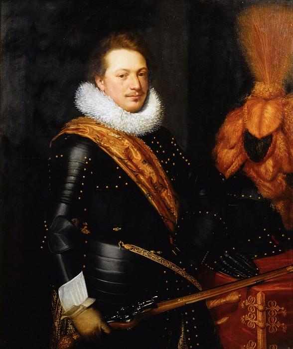 Jan Anthonisz van Ravesteyn (and studio) - Portrait of an Officer, presumably Johan Wolfert van Brederode (1599-1655). Mauritshuis