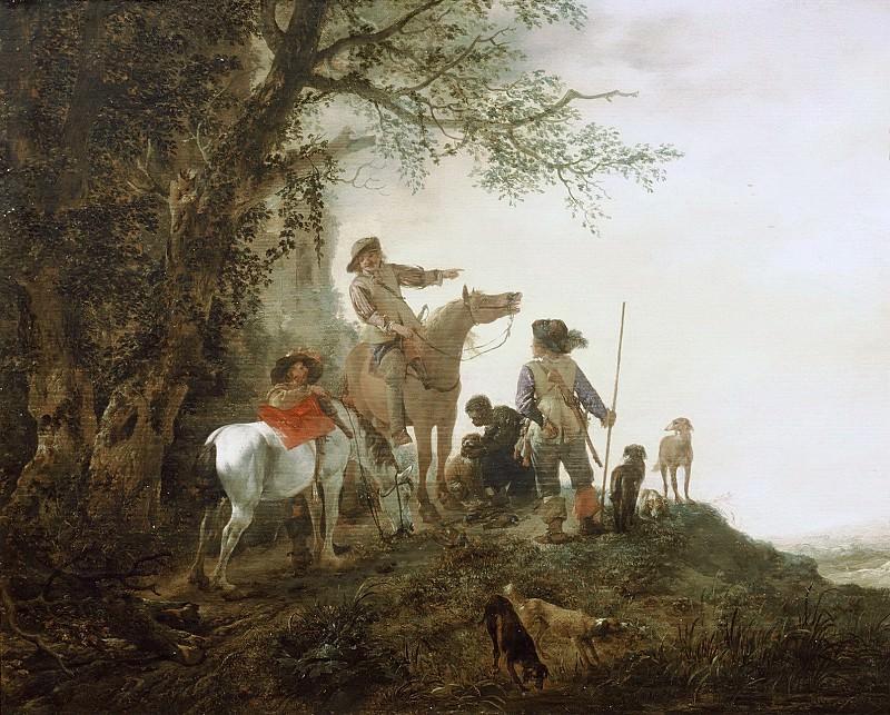 Вауэрман, Филипс - Охотники на привале. Маурицхёйс