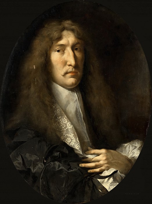 Heinrich Dittmers - Portrait of a Man. Mauritshuis