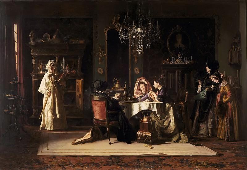 Alexander Hugo Bakker Korff - 'La Fille du Héros' (The Hero's Daughter). Mauritshuis