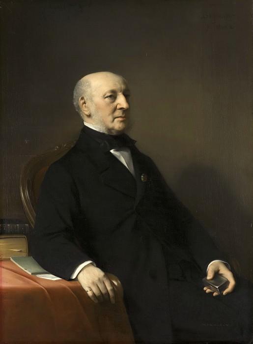 Bastiaan de Poorter - Portrait of Jean Zacharia Mazel (1792-1884). Mauritshuis