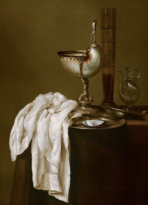Willem Claesz Heda (attributed to) - Still Life with Nautilus Cup. Mauritshuis