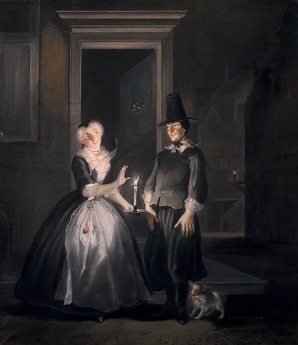 Трост, Корнелис - Ян Клас, или Мнимая служанка: Признание в любви Ренье Адрианса. Маурицхёйс