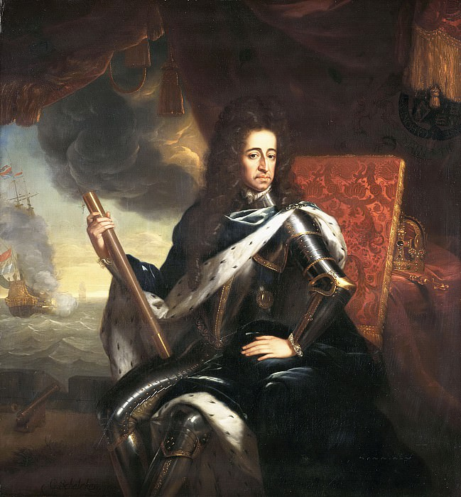 Godfried Schalcken - Portrait of Stadholder-King William III (1650- 1702). Mauritshuis