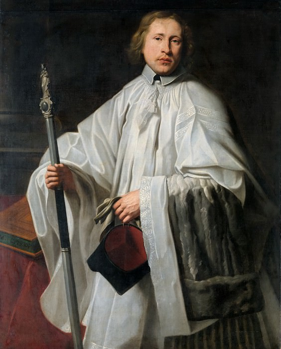 Philippe de Champaigne (circle of) - Portrait of Jacobus Govaerts (b. 1635/36). Mauritshuis