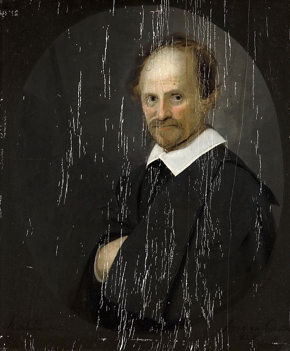 Karel Slabbaert - Portrait of a Man. Mauritshuis