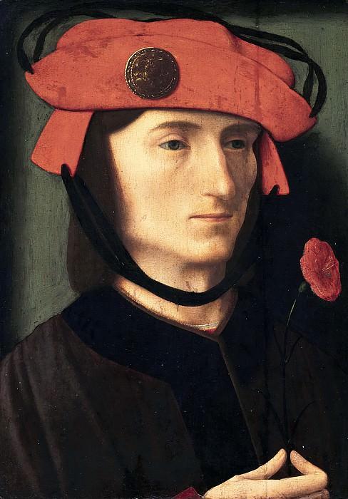 Мастер портрета Брендона - Портрет мужчины с медалью Самсона. Маурицхёйс