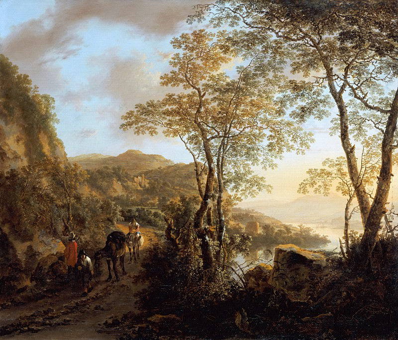 Jan Both - Italian Landscape. Mauritshuis