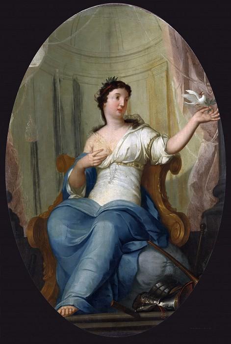 Mattheus Terwesten - Allegory of Peace. Mauritshuis