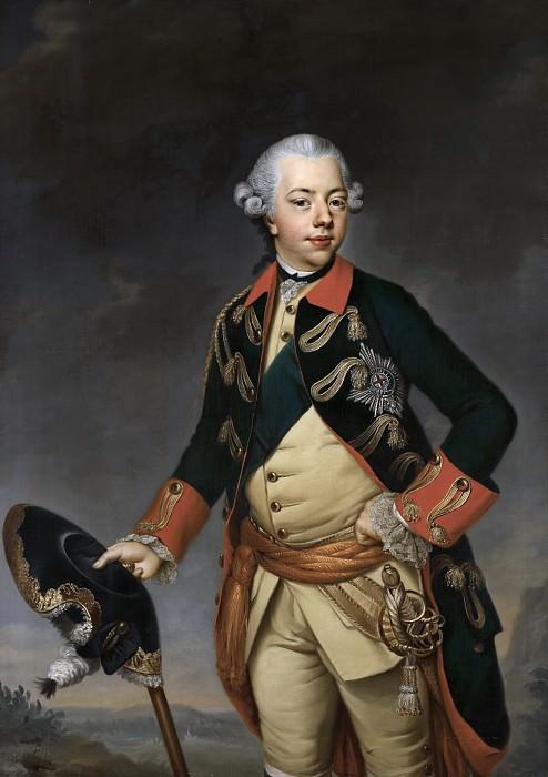 Johann Georg Ziesenis - Portrait of Stadholder William V (1748-1806). Mauritshuis