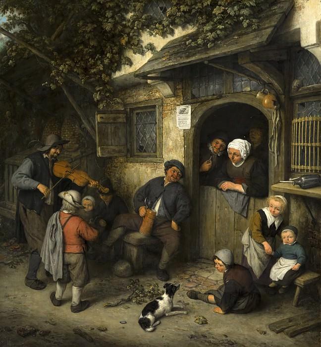 Adriaen van Ostade - The Fiddler. Mauritshuis
