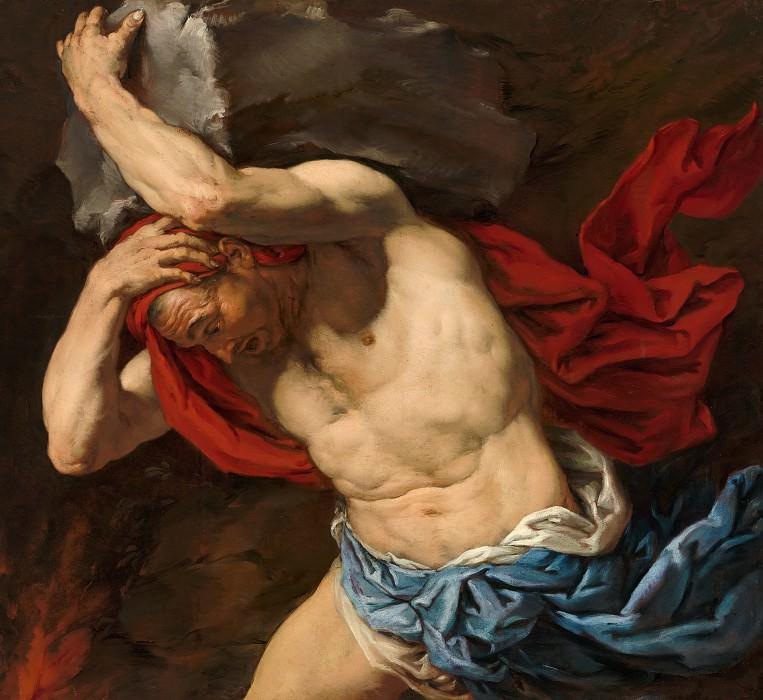 Antonio Zanchi - Sisyphus. Mauritshuis