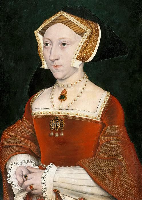 Гольбейн, Ганс II (копия) - Портрет Джейн Сеймур, королевы Англии. Маурицхёйс