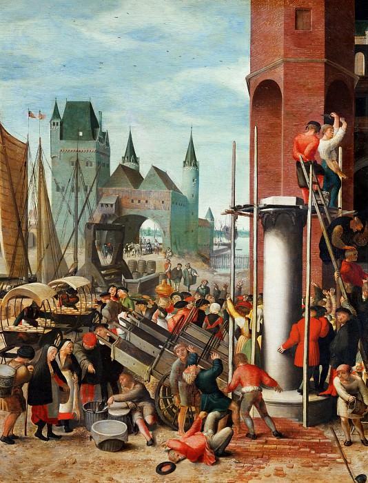 Herri met de Bles - Ecce Homo, detail. Mauritshuis