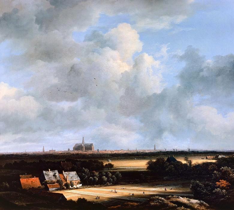 Jacob van Ruisdael - View of Haarlem. Mauritshuis