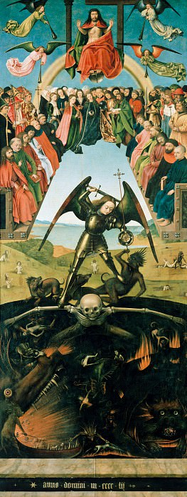 Petrus Christus (c.1410-c.1475) - last judgment. Part 4