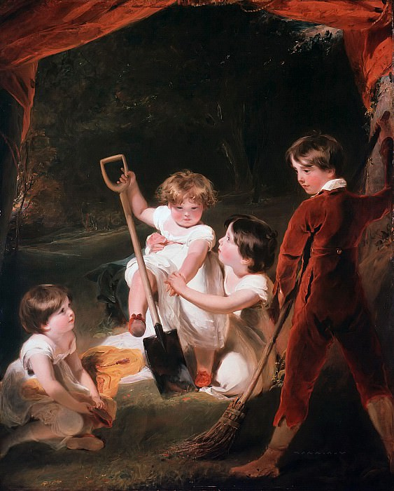 Sir Thomas Lawrence (1769-1830) - The Angerstein Childrens. Part 4