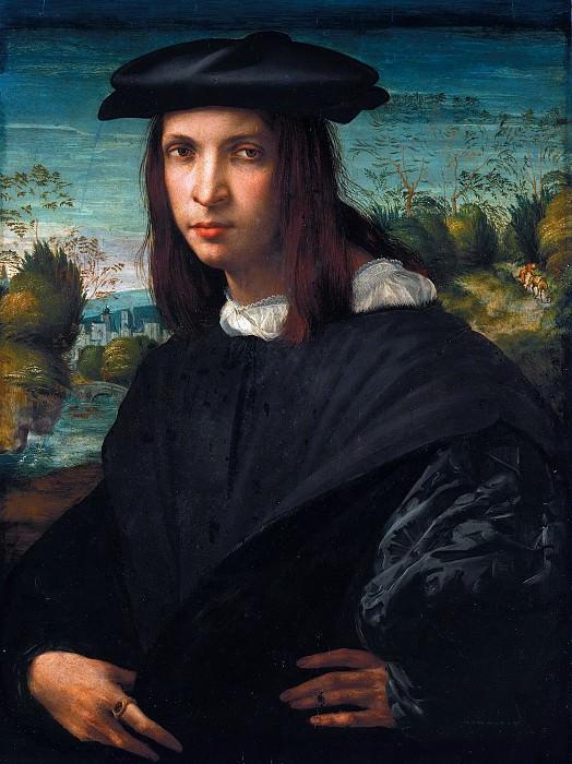 Россо Фьорентино (1494-1540) - Портрет молодого человека. Часть 4