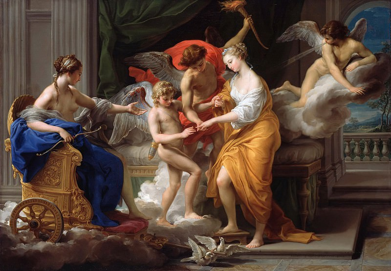 Pompeo Girolamo Batoni (1708-1787) - The Marriage of Cupid with Psyche. Part 4