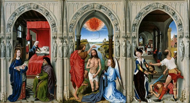 Rogier van der Weyden (1400-1464) - The Altar of St. Johns. Part 4