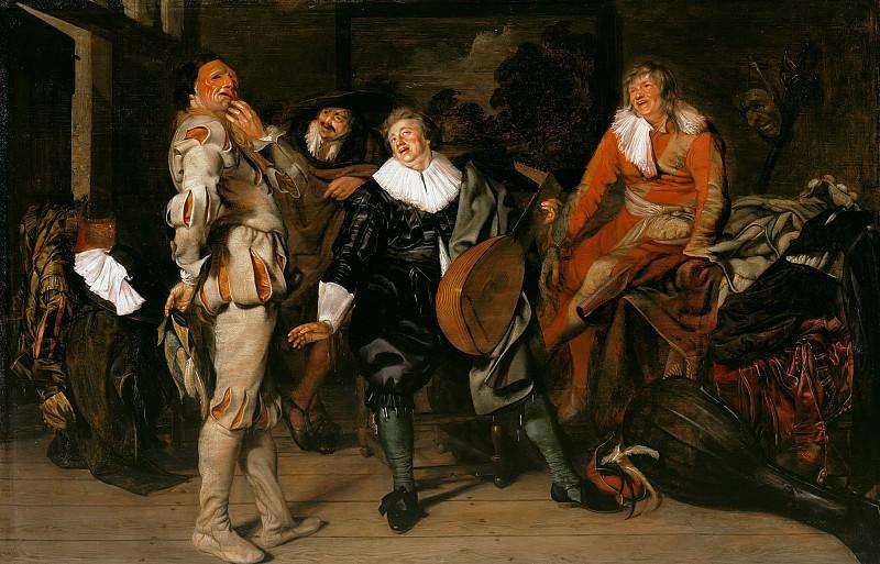 Pieter Codde (1599-1678) - Actors Wardrobe. Part 4