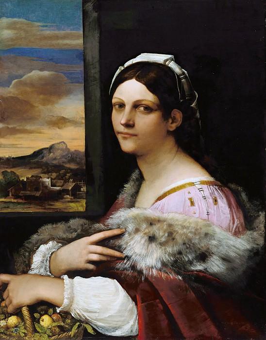 Sebastiano del Piombo (1485-1547) - Portrait of a young Roman. Part 4