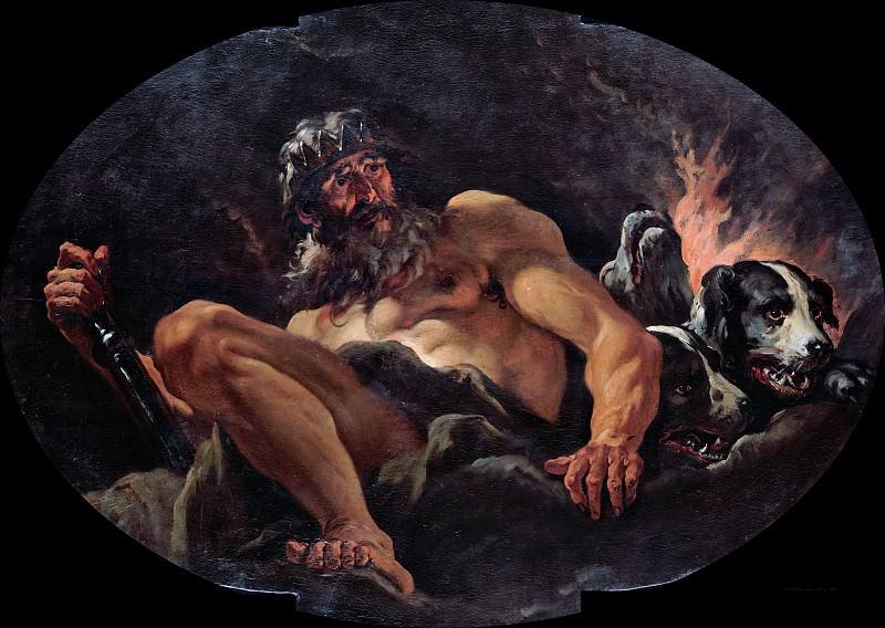 Sebastiano Ricci (1659-1734) - The Olympian gods - Pluto. Part 4