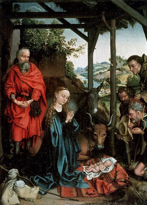 Schongauer, Martin (c.1450–1491) - The Birth of Christ. Part 4