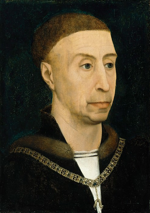 Rogier van der Weyden (follower) - Philip the Good, Duke of Burgundy. Part 4