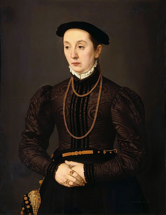 Nicolas Neufchatel (c.1527-c.1590) - Portrait of a Woman. Part 4