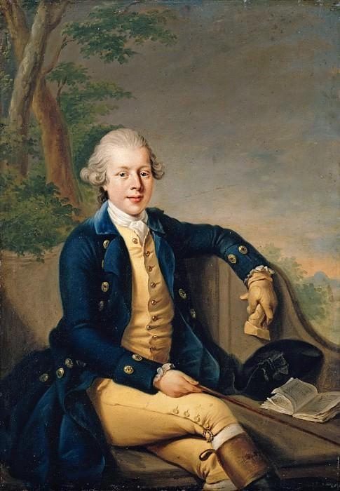 Johann Georg Ziesenis (1716-1776) - Prince Ernst Ludwig of Saxe-Gotha-Altenburg. Part 4