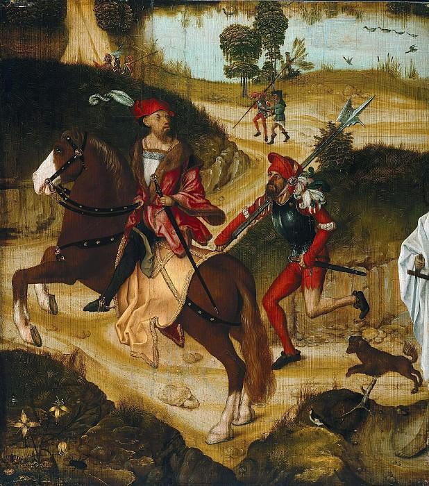 Nurnbergisch master - c.1510 - Mercenaries on the run from the death. Part 4