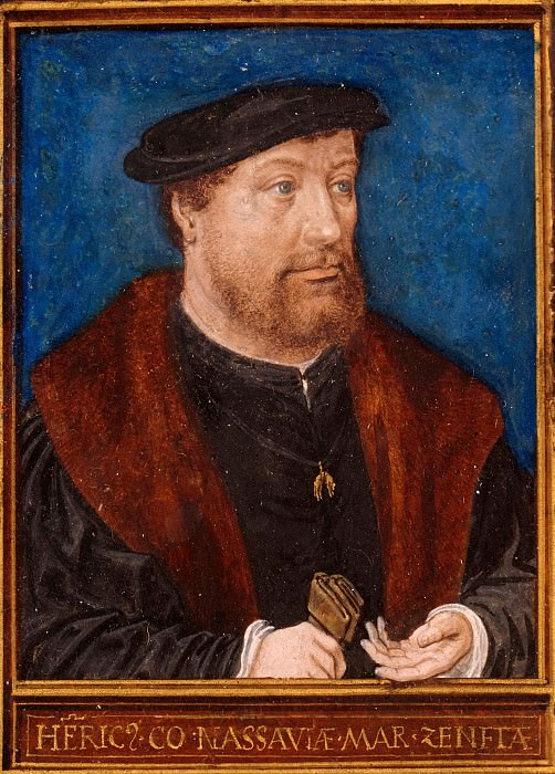 Simon Bening (1484-1561) - Henry III. Count of Nassau and Breda. Part 4