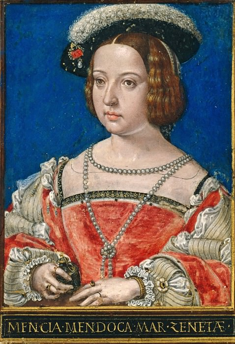 Simon Bening (1484-1561) - Mencia de Mendoza, third wife of Henry III., Count of Nassau. Part 4