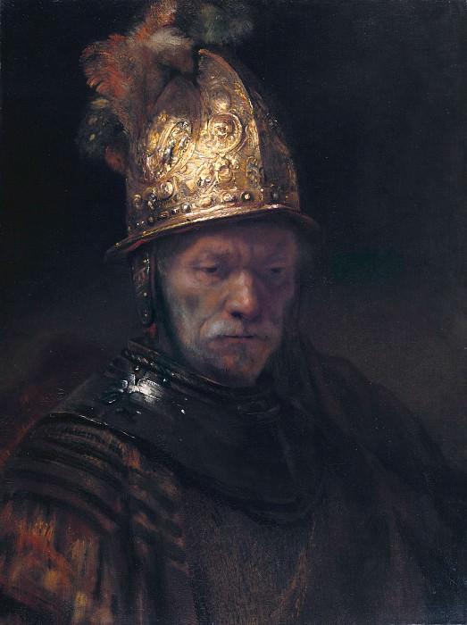 Рембрандт (круг) - Мужчина в золотом шлеме. Часть 4